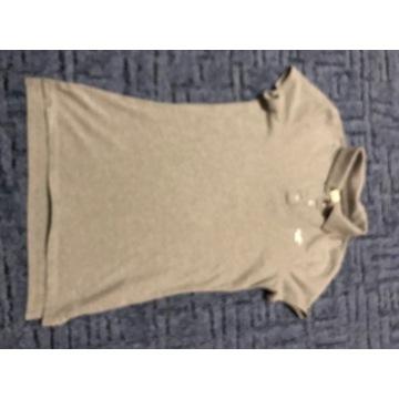 Koszulka polo Hollister S damska szara