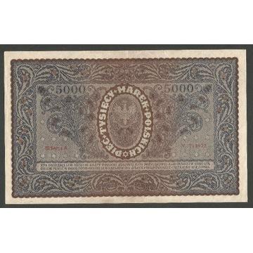 5000 marek polskich III Serja A ładne