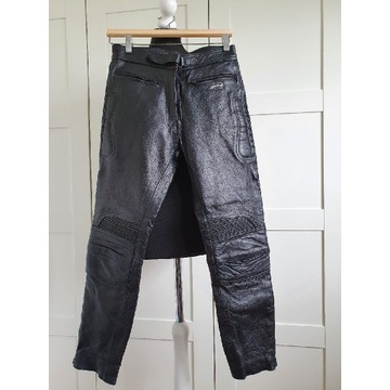 Spodnie motocyklowe skórzane Skintan rozmiar S