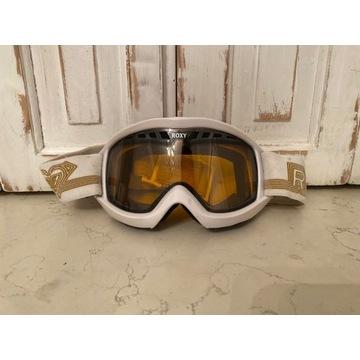 Gogle narciarskie białe Roxy