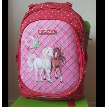Plecak szkolny Herlitz Bliss Horses Konie jak NOWY