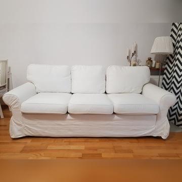 Sofa + fotel + pokrowce