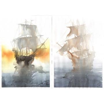 fregata statek  E / F