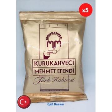 Kawa Turecka Mehmet Efendi 100g x 5 szt