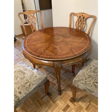 Stół antyk, styl Chippendale