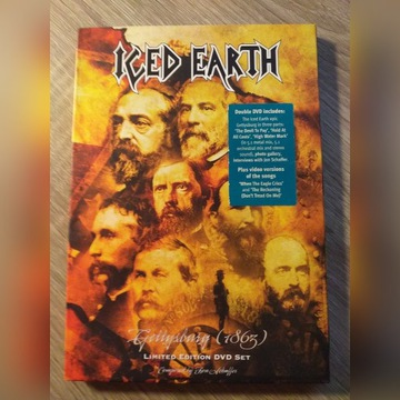 Iced Earth Gettysburg Limitowane DVD