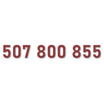 507 800 855 ORANGE ŁATWY ZŁOTY NUMER starter