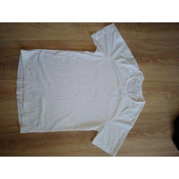 Koszulka biała do biegania siateczka damska ODLO M