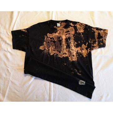 Reverse Dye, wzór Tie Dye-nowa koszulka rozmiar XL