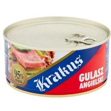 Gulasz Angielski Krakus 95% mięsa