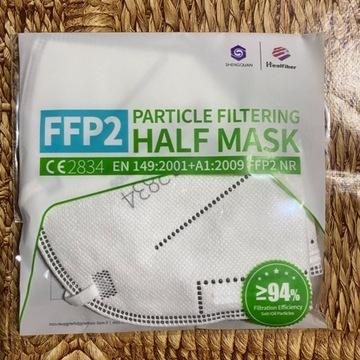Maseczki ochronne antywirusowe FFP2