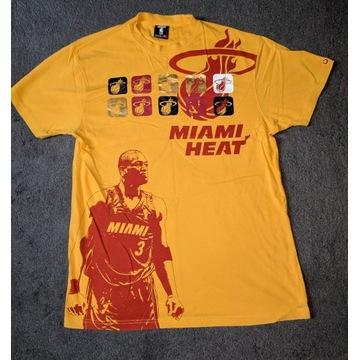Unikat Koszulka NBA UNK Miami Heat Wade żółta r. L