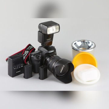 Canon 70D,obiektyw, lampa, gratisy, Przebieg 2350!