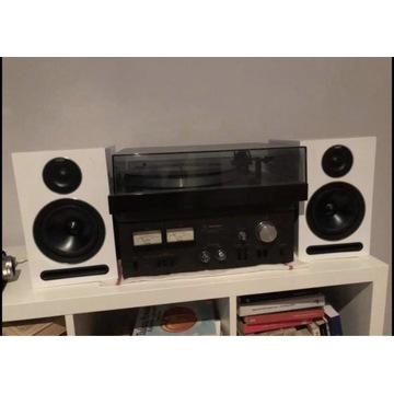 Gramofon Thorens TD-316 + wzmacniacz + kolumny