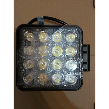 Halogen LED 48 W 12v lampa robocza Nowa
