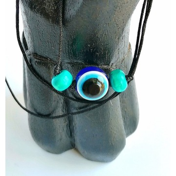 Wyjątkowy NASZYJNIK WISIOR tureckie oko