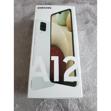 Samsung A12, 64GB, 48Mpix, Fabrycznie Nowy