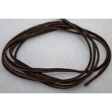 Sutasz rękodzieło sznurek ciemny brąz 2,5 mm - 5m