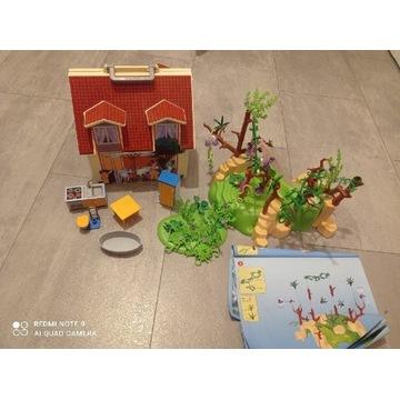 Klocki Playmobil domek ogród