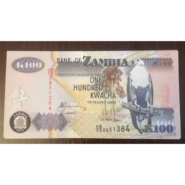 Zambia 100KWACHA 2010r stan UNC