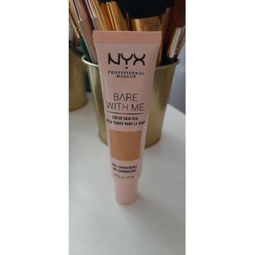 Podkład NYX bare with me tinted veil beige camel