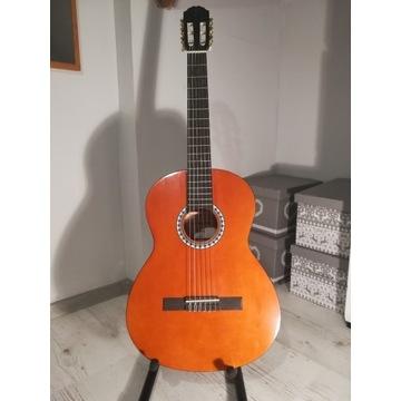 Gitara klasyczna +pokrowiec i kapodaster Gratis
