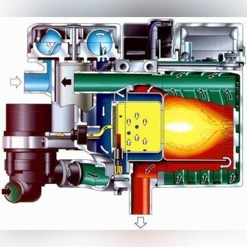 Kompletne Webasto mokre niezależne 12V diesel