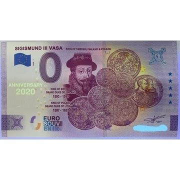 0 EURO ZYGMUNT III WAZA ANNIVERSARY - 10 SZTUK