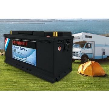 Akumulator LiFePo4 100Ah kamper jacht przyczepa