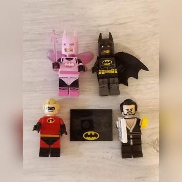 Komplet 4 figurek LEGO Batman stan bardzo dobry