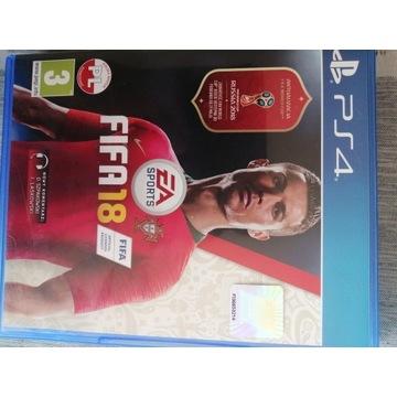 Gra FIFA 18 ps4 JAK NOWA