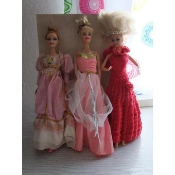 Lalki Księżniczki z Królewskiego Balu 4 sztuki
