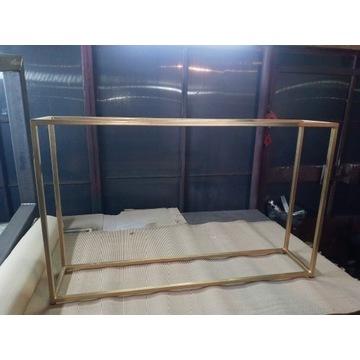 Konsola metalowa , Stelaż loft