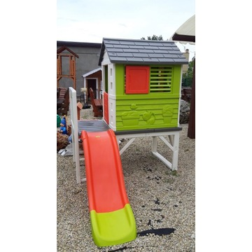 Domek dla dzieci SMOBY na palach Zjeżdżalnia 150cm