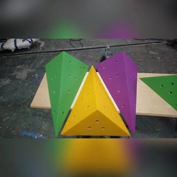 Struktury , pudełka na ścianke spinaczkową