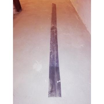 Listwa zamykająca do folii kubełkowej 2 m