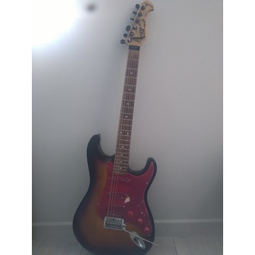 J&D Brothers stratocaster - gitara zmodyfikowana.