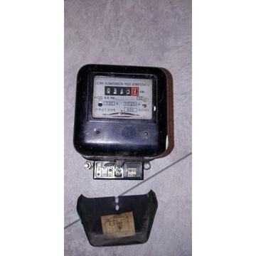 Licznik prądu jednofazowego MOD A4 PAFAL Chorzów