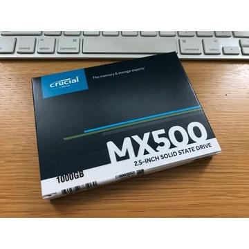 "Dysk SSD Crucial MX500 1TB 2,5"" (CT1000MX500SSD1)"
