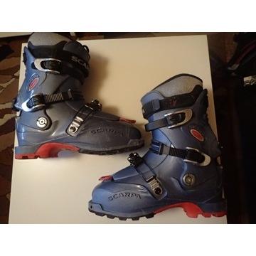 Buty skitourowe, r.41,5, skitury, skiturowe