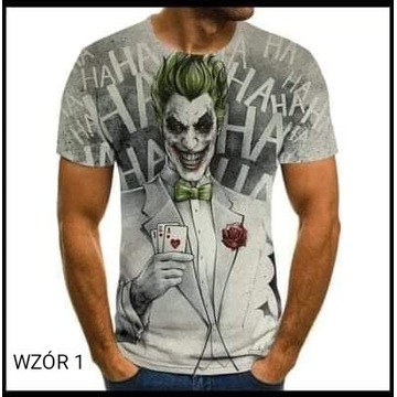 Koszulka męska z nadrukiem L