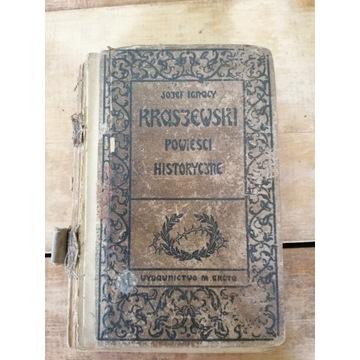 Stara książka POWIEŚCI HISTORYCZNE