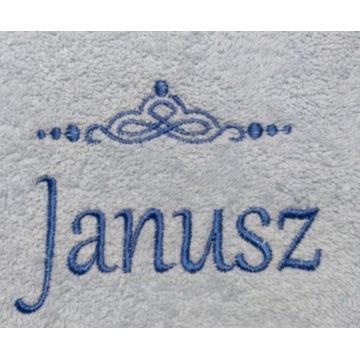 Ręcznik 30x50 z haftem imienia Janusz