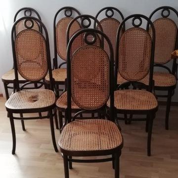 Krzesła Jasienica rattan
