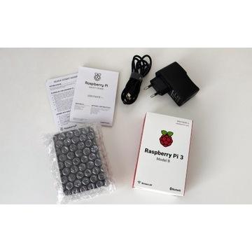 Raspberry Pi 3 Model B 1GB + Akcesoria