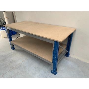 Stół warsztatowy garażowy magazynowy Roboczy