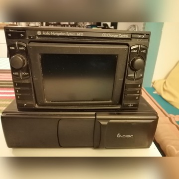 Radioodtwarzacz MFD + zmieniarka CD