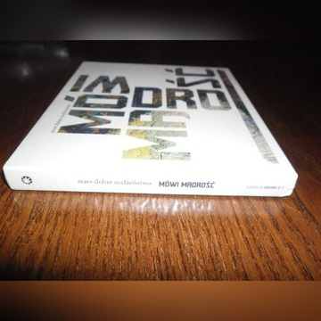 STARE DOBRE MAŁŻEŃSTWO Mówi mądrość CD/DVD