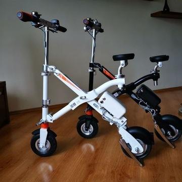 Rowery elektryczny Airwheel E6 czarny i biały