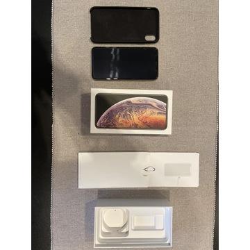 IPhone XS Max złoty, 64 GB, 87 % kondycji baterii